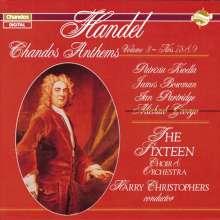 Georg Friedrich Händel (1685-1759): Chandos Anthems Vol.3, CD