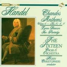 Georg Friedrich Händel (1685-1759): Chandos Anthems Vol.4, CD
