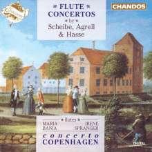 Johann Adolph Hasse (1699-1783): Flötenkonzert in G, CD