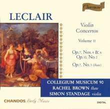Jean Marie Leclair (1697-1764): Violinkonzerte op.7 Nr.4 & 6;op.10 Nr.1, CD