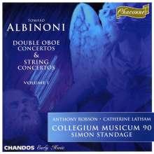 Tomaso Albinoni (1671-1751): Concerti op.7 Nr.1 & 4;op.9 Nr.1 & 4, CD