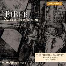 Heinrich Ignaz Biber (1644-1704): Fidicinium Sacro-Profanum Nr.1-12, 2 CDs