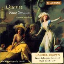 Johann Joachim Quantz (1697-1773): 7 Flötensonaten, CD