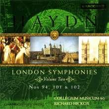 Joseph Haydn (1732-1809): Symphonien Nr.94,101,102, CD
