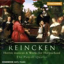 Johann Adam Reincken (1643-1722): Hortus Musicus (1687), CD