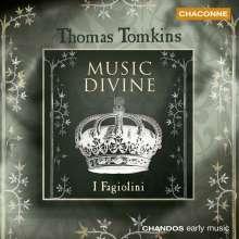 Thomas Tomkins (1572-1656): Songs of 4,5 & 6 Parts, CD