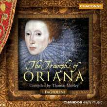 Thomas Morley (1557-1602): The Triumphs of Oriana (Madrigalsammlung 1601), CD
