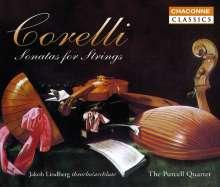 Arcangelo Corelli (1653-1713): Sämtliche Sonaten für Streicher, 4 CDs