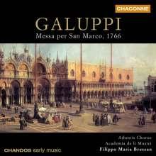 Baldassare Galuppi (1706-1785): Messa per San Marco 1766, CD