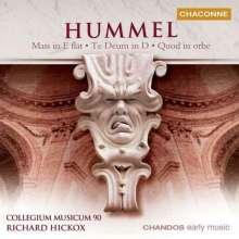 Johann Nepomuk Hummel (1778-1837): Messe Nr.2 (op.80), CD