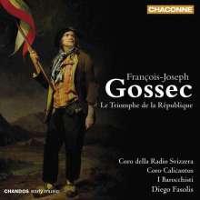 Francois-Joseph Gossec (1734-1829): Le Triomphe de la Republique, CD
