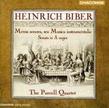 Heinrich Ignaz Biber (1644-1704): Mensa Sonora (Tafelmusik 1680), CD