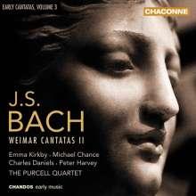 Johann Sebastian Bach (1685-1750): Frühe Kantaten Vol.3, 2 CDs