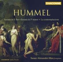 Johann Nepomuk Hummel (1778-1837): Klaviersonaten Nr.2 & 3 (op.13 & 20), CD