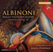 Tomaso Albinoni (1671-1751): Concerti op.10 Nr.1-3,5,7,8,11,12, CD