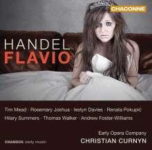 Georg Friedrich Händel (1685-1759): Flavio, 2 CDs