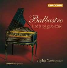 Claude Balbastre (1727-1799): Pieces De Clavecin, CD