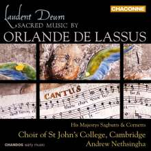 """Orlando di Lasso (Lassus) (1532-1594): Geistliche Werke """"Laudent Deum"""", CD"""