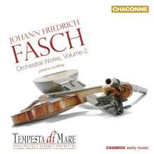 Johann Friedrich Fasch (1688-1758): Orchesterwerke Vol.2, CD