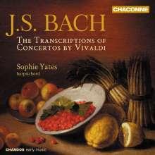 Johann Sebastian Bach (1685-1750): Transkriptionen für Cembalo, CD