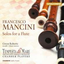 Francesco Mancini (1672-1737): Sonaten Nr.1,2,4-6,10-12 für Blockflöte & Bc (1724), CD