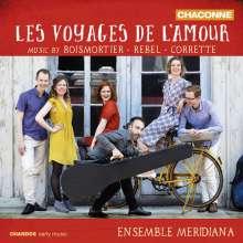 Joseph Bodin de Boismortier (1689-1755): Kammermusik - Les Voyages de l'amour, CD