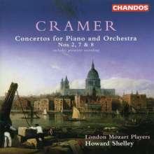 Johann Baptist Cramer (1771-1858): Klavierkonzerte Nr.2,7,8, CD