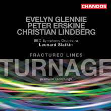 Mark-Anthony Turnage (geb. 1960): Fractured Lines, CD
