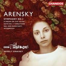 Anton Arensky (1861-1906): Symphonie Nr.2, CD