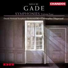 Niels Wilhelm Gade (1817-1890): Sämtliche Symphonien Vol.4, CD