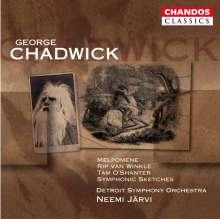 George Chadwick (1854-1931): Symphonische Sketche, CD