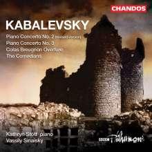 Dimitri Kabalewsky (1904-1987): Klavierkonzerte Nr.2 & 3, CD