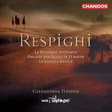 Ottorino Respighi (1879-1936): La Boutique fantasque-Ballett nach Rossini, CD