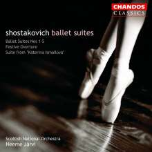 Dmitri Schostakowitsch (1906-1975): Ballettsuiten Nr.1-5, 2 CDs