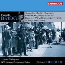 Frank Bridge (1879-1941): Orchesterwerke Vol.3, CD