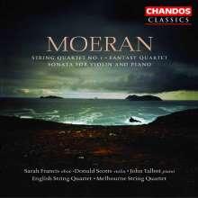 Ernest Moeran (1894-1950): Streichquartett in a, CD