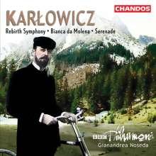 """Mieczyslaw Karlowicz (1876-1909): Symphonie e-moll op.7 """"Rebirth"""", CD"""
