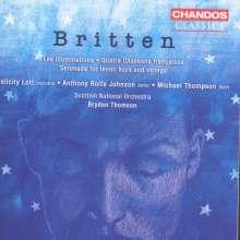 Benjamin Britten (1913-1976): Serenade für Tenor,Horn & Streicher op.31, CD