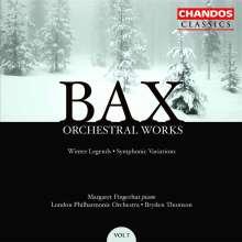 Arnold Bax (1883-1953): Symphonische Variationen für Klavier & Orchester, 2 CDs