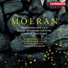 Ernest Moeran (1894-1950): Rhapsodien für Orchester Nr. 1 & 2, CD