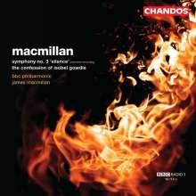 "James MacMillan (geb. 1959): Symphonie Nr.3 ""Silence"" (In Memoriam Shusako Endo), CD"