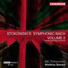 Johann Sebastian Bach (1685-1750): Transkriptionen - Stokowski's Symphonic Bach II, CD