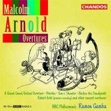 Malcolm Arnold (1921-2006): Ouvertüren, CD