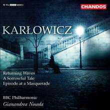 Mieczyslaw Karlowicz (1876-1909): Symphonische Dichtungen, CD