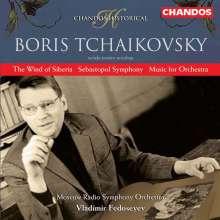 Boris Tschaikowsky (1925-1996): Sebastopol Symphony, CD