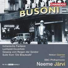 Ferruccio Busoni (1866-1924): Indianische Fantasie op.44 für Klavier & Orchester, CD