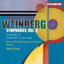 Mieczyslaw Weinberg (1919-1996): Symphonien Vol.3, CD