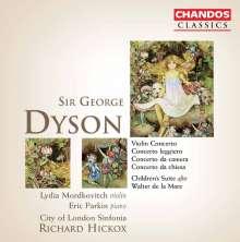George Dyson (1883-1964): Concierto Leggiero für Klavier & Streicher, 2 CDs