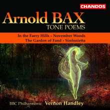 Arnold Bax (1883-1953): Symphonische Dichtungen Vol.1, CD