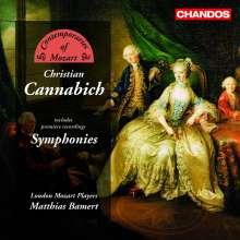 Johann Christian Cannabich (1731-1798): Symphonien Nr.22 & 57 (C-Dur & Es-Dur), CD